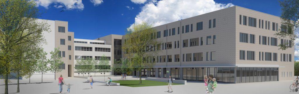 2. Monte-Schule Rendering Nord-Ost_web klein