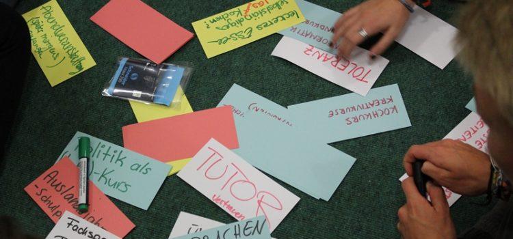 Schüler-Workshop zur neuen Oberstufe