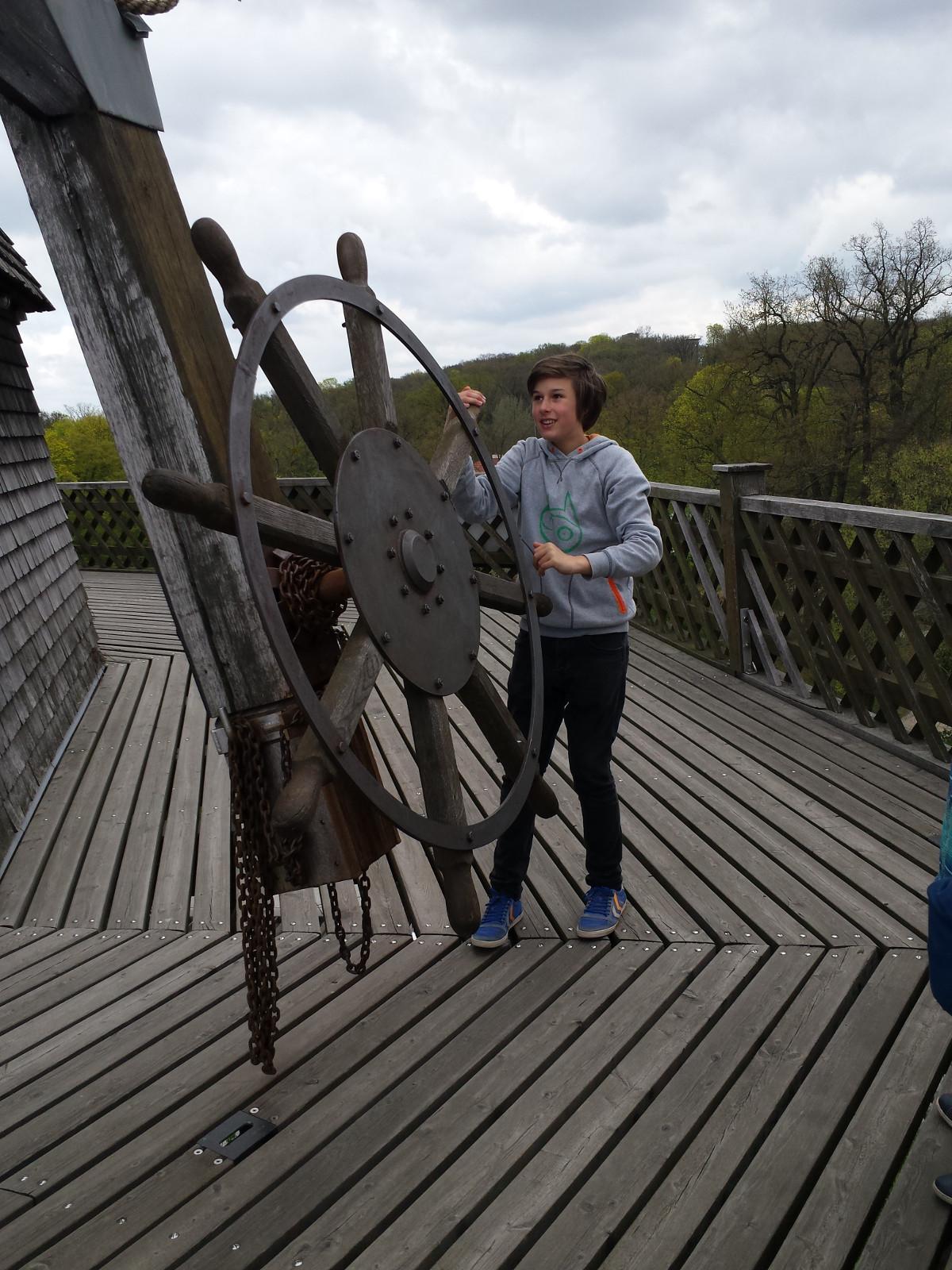 Der Besuch in der Mühle